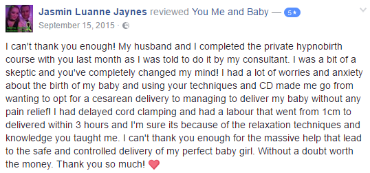 Private hypnobirthing course Cardiff