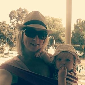 Me &my first hypnobaby