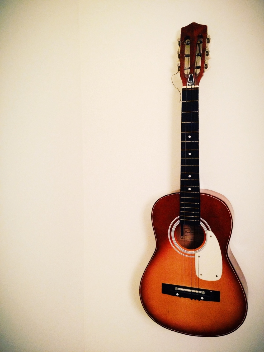 Childhood guitar