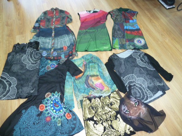 Sublimation clothing samples from Estampados