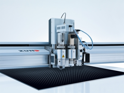 Zund carbon cutting technology