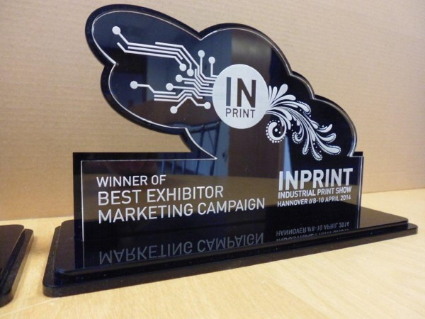 Best Exhibitor Marketing Award produced by Stigler, Munich