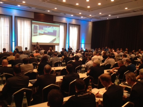 Inkjet Conference Opens to a packed auditorium of nearly 300 delegates