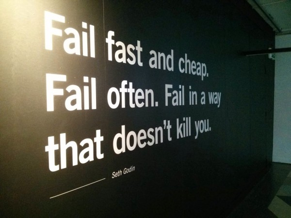 Seth Godin - Failure is an essential process to success