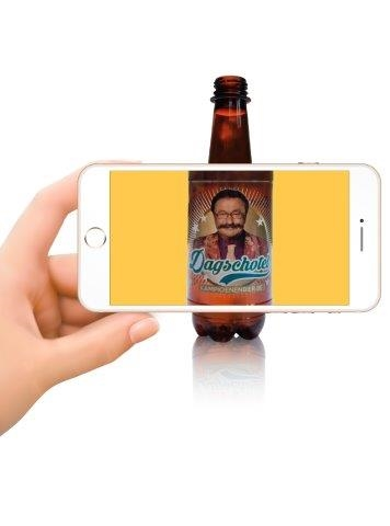 Augmented Reality and Versioned Labels Provide a Unique Experience for beer drinkers
