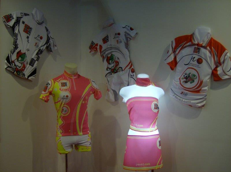 Dye Sublimation has revolutionised sportswear printing