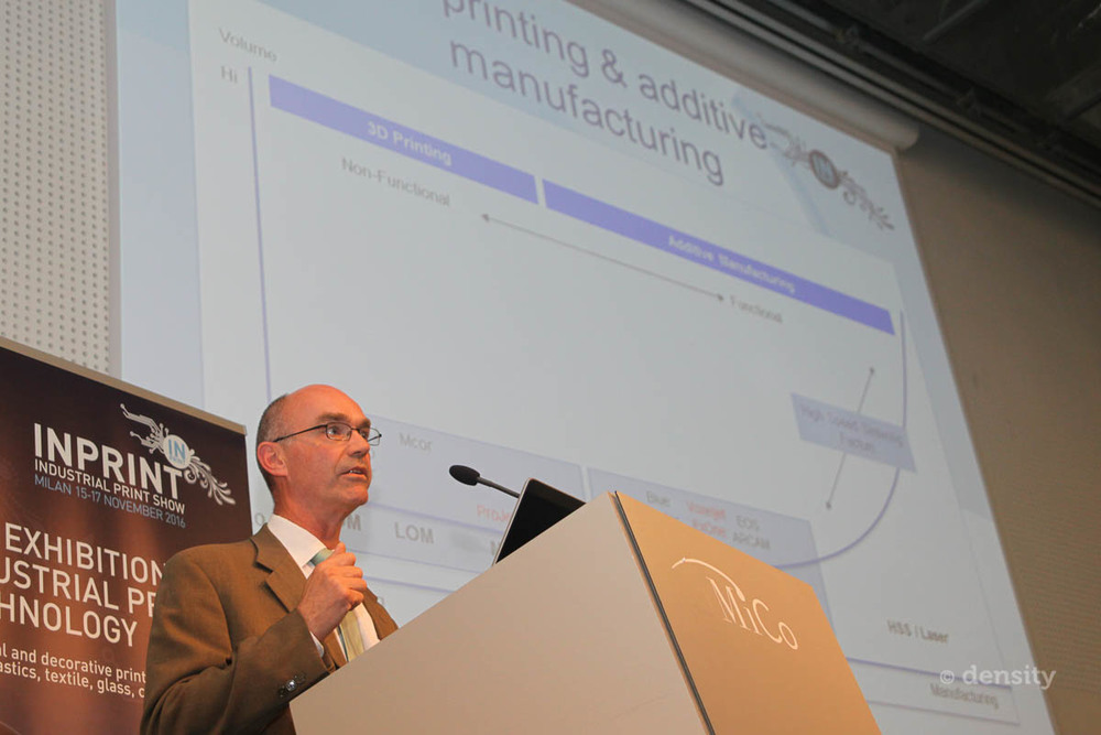 Mark Ritchie, Xaar presented at the InPrint Development Forum