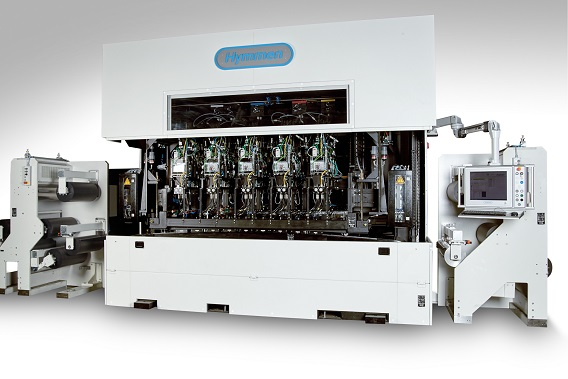 The Digital edge printing line - Jupiter JPT -WS as a compact whole unit - cover open