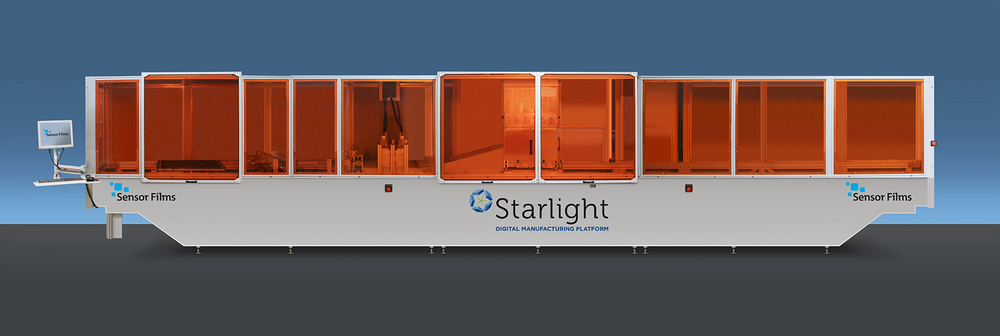 Sensor Films Starlight industrial Inkjet Technology will be shown at InPrint USA