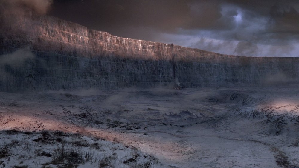 In Game of Thrones, the Wall is there to keep out the wildlings.