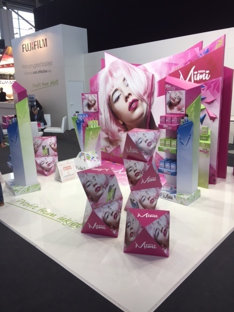Fujifilm showed high quality cosmetic applications