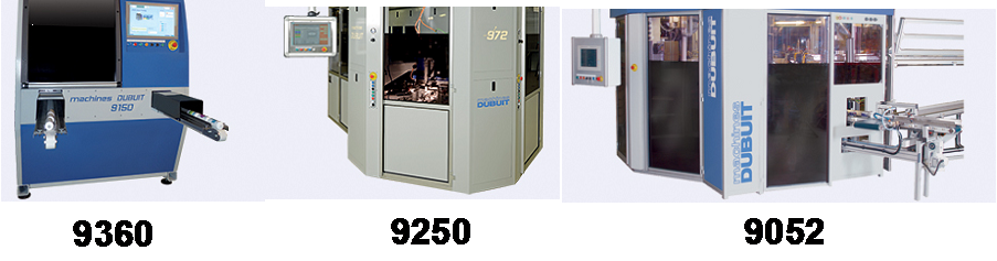 Dubuit show a number of direct to shape machines