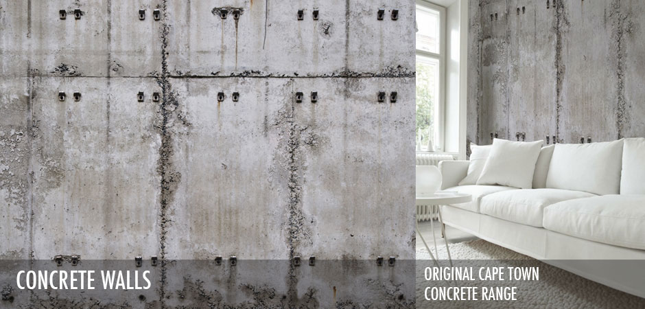 Robin Sprong Original Cape Town Concrete Wallpaper Range www.robinsprong.com