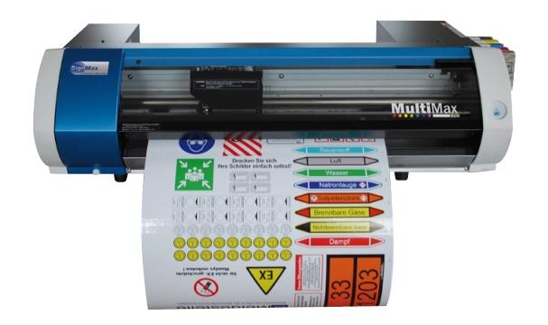 Modified BN-20 desktop inkjet printer / cutter
