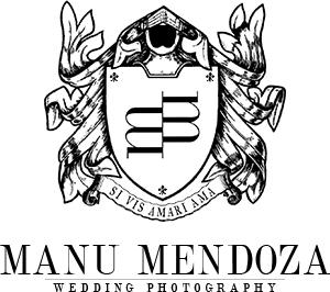 Logo of Manu Mendoza Wedding Photography, wedding photographer based in Basingstoke, Hampshire