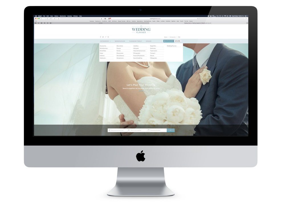 weddingplanner.co.uk website