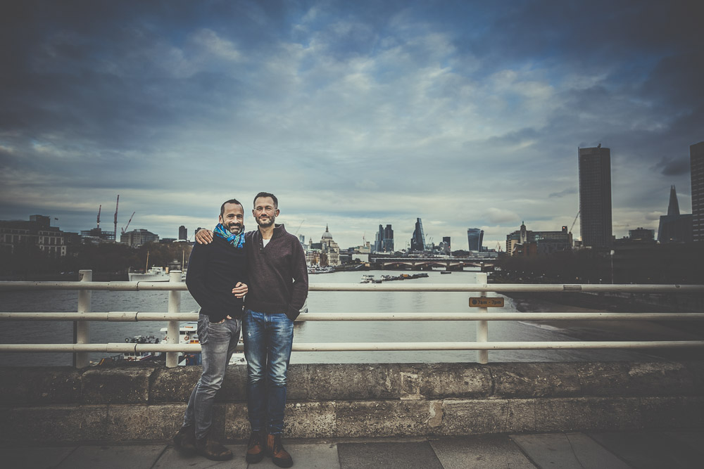 Gay Engagement Photos in London