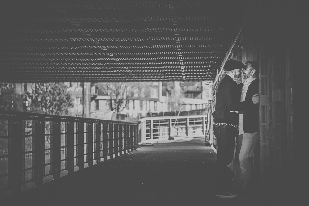 Engagement Photos at Olympic Park in London