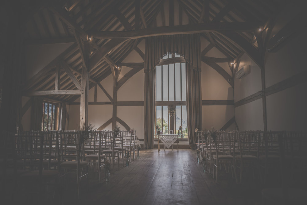 Barn Wedding Cain Manor Hampshire