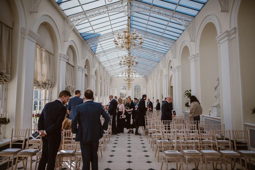 Wedding ceremony Blenheim Palace