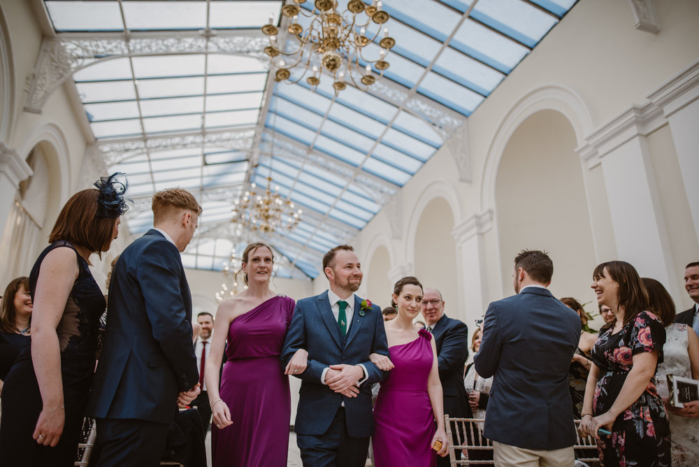 Wedding pictures Blenheim Palace