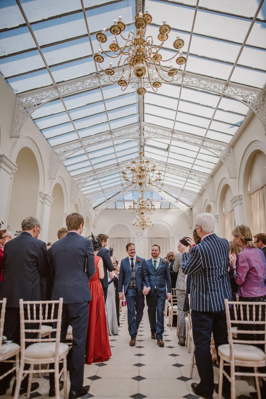 The Orangery Wedding Ceremony Blenheim Palace