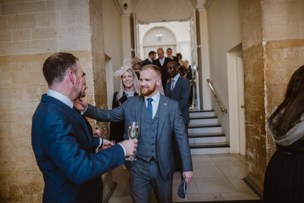 Wedding photos in Blenheim Palace