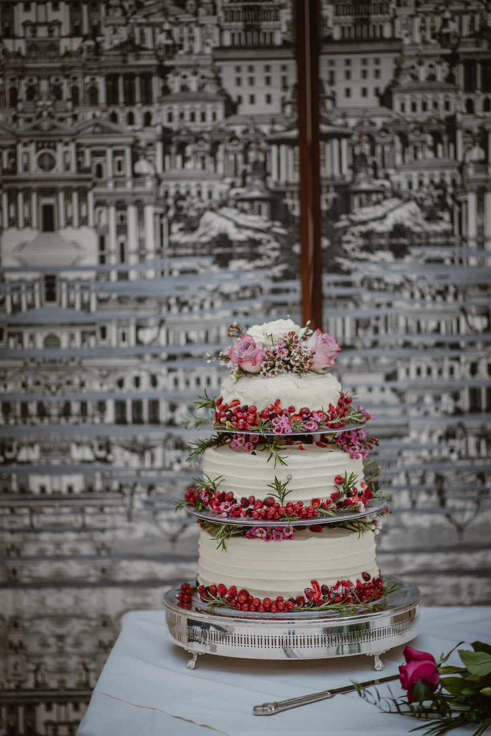 Blenheim palace Wedding Cake