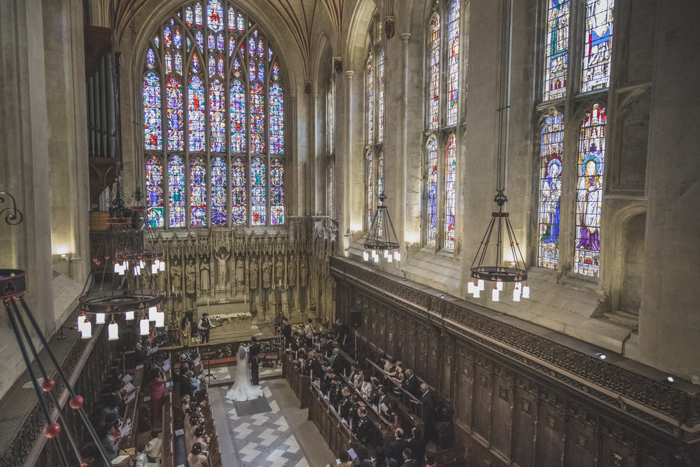 Winchester College Chapel Wedding Photos