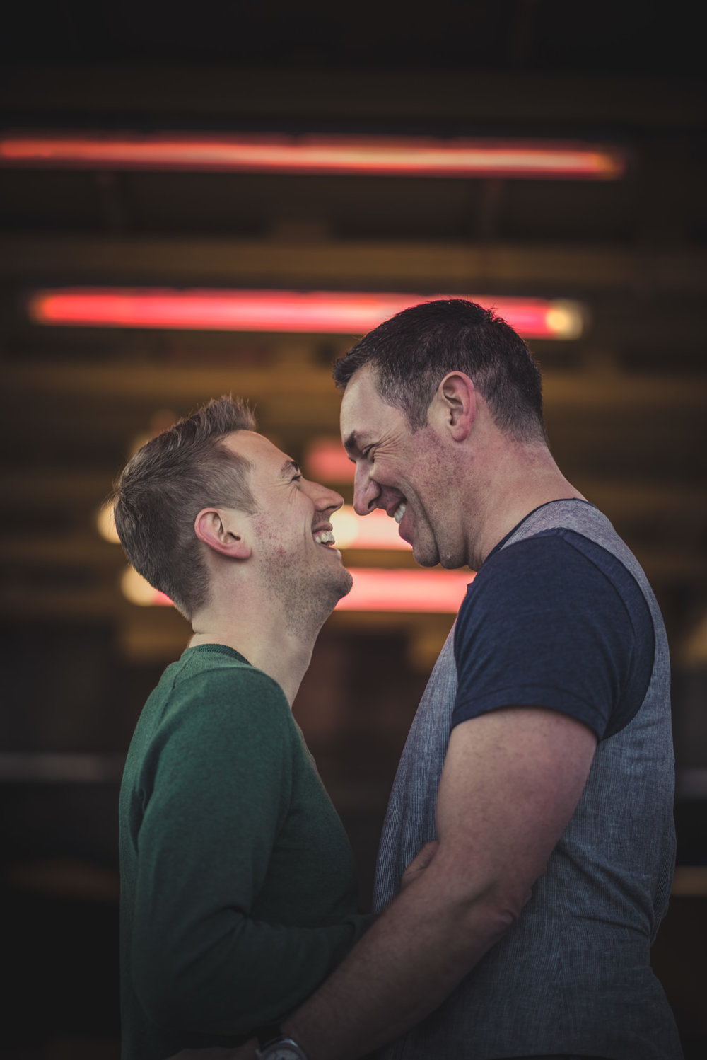 Same-sex Engagement Photos in London