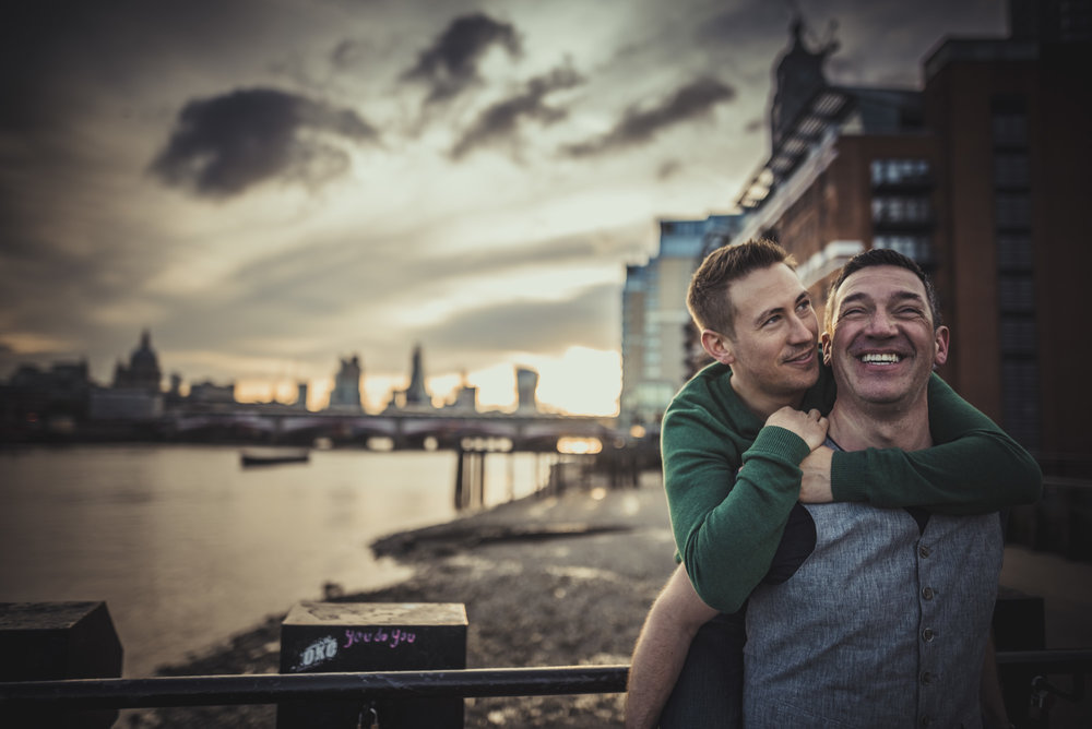 Gay Engagement Session in London