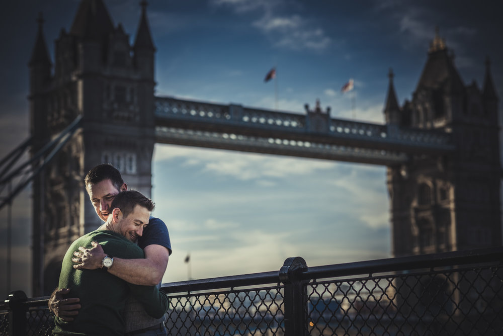 Artistic Gay Wedding photographer in London