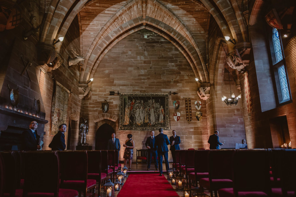 Ceremony Room in Peckforton Castle