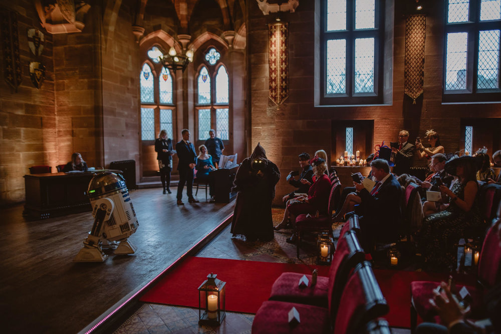Star Wars Wedding at Peckforton Castle