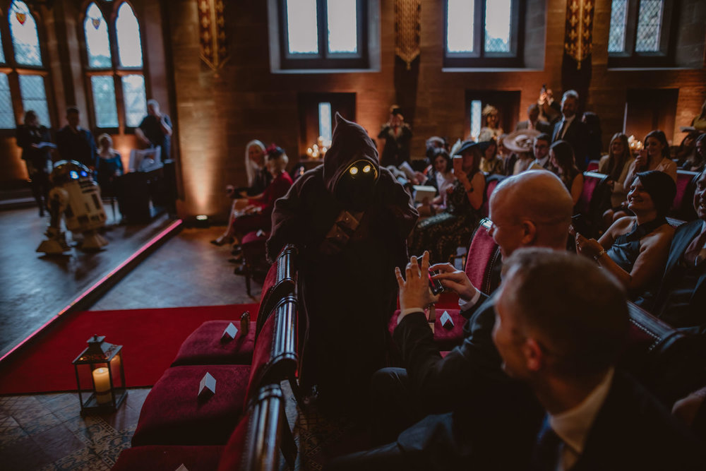 Star Wars Wedding in Peckforton Castle