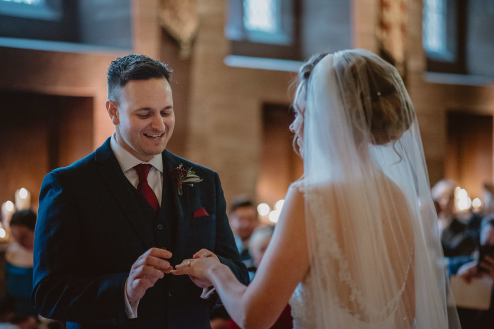 wedding photos in Peckforton Castle