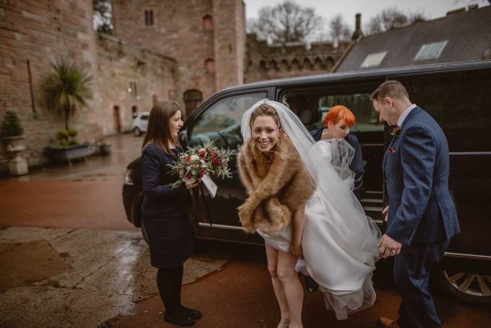 Peckforton Castle Winter Wedding