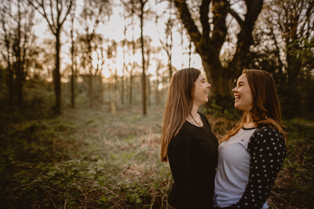 Savernake Forest engagement session