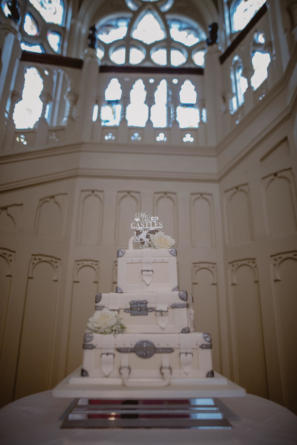 Wedding Cake in The Elvetham Hotel, Hampshire