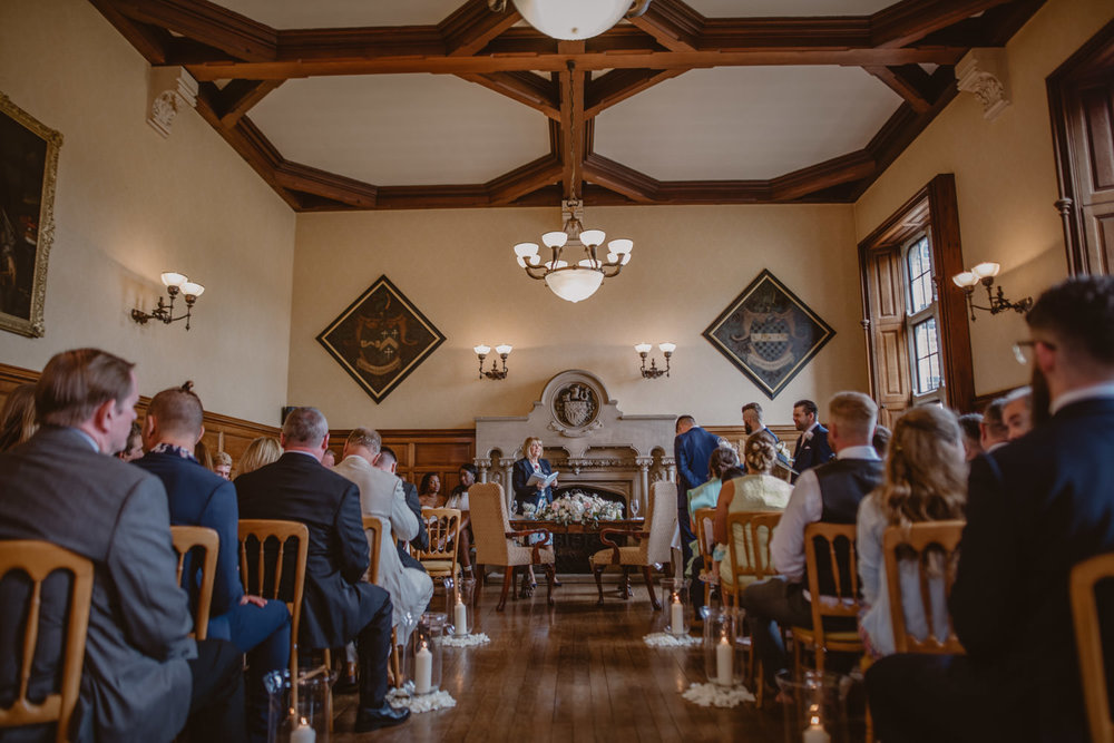 The Oak Room at The Elvetham Hotel Wedding Venue