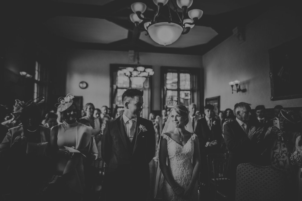 Wedding Ceremony at The Elvetham Hotel Wedding Venue in Hampshire