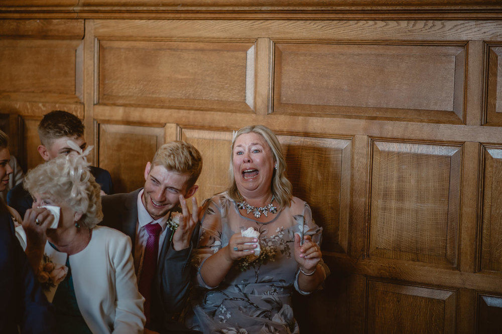 The Oak Room Emotional Wedding Photography The Elvetham Hotel