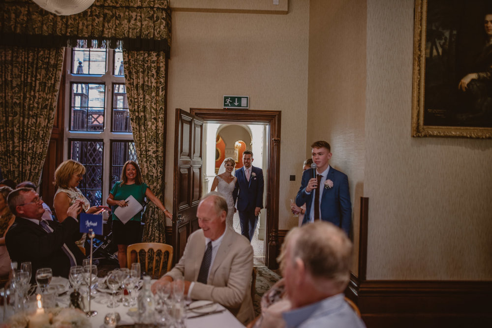 Wedding Reception at The Elvetham Hotel