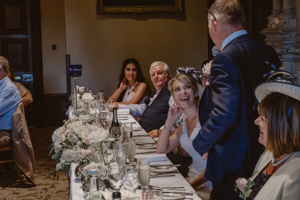 Speeches Wedding Photographer The Elvetham Hotel