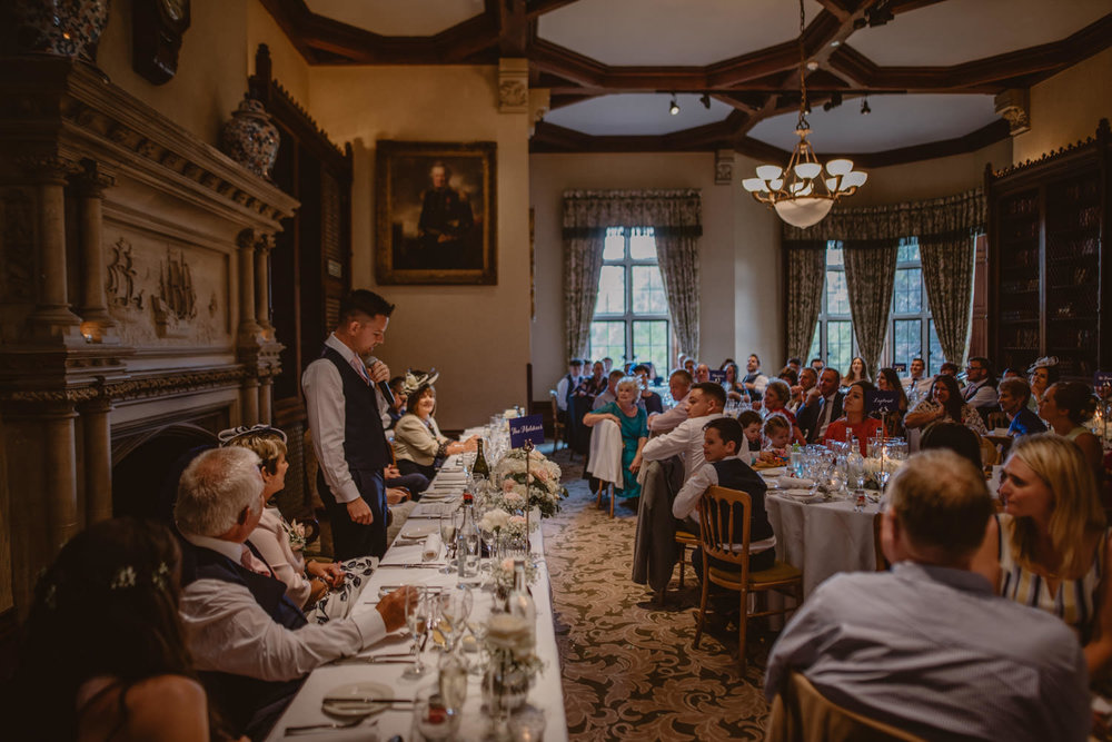 Groom Speech at The Elvetham Hotel