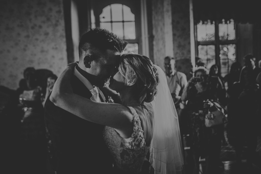 Bride and Groom First Dance at The Elvetham Hotel