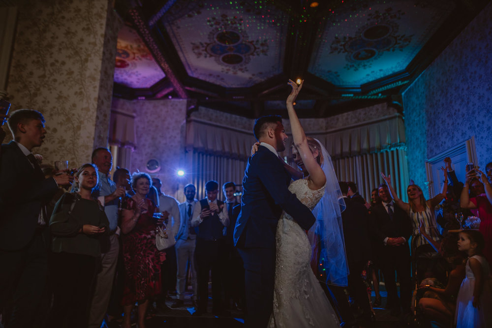 First Dance Wedding Photos at The Elvetham Hotel