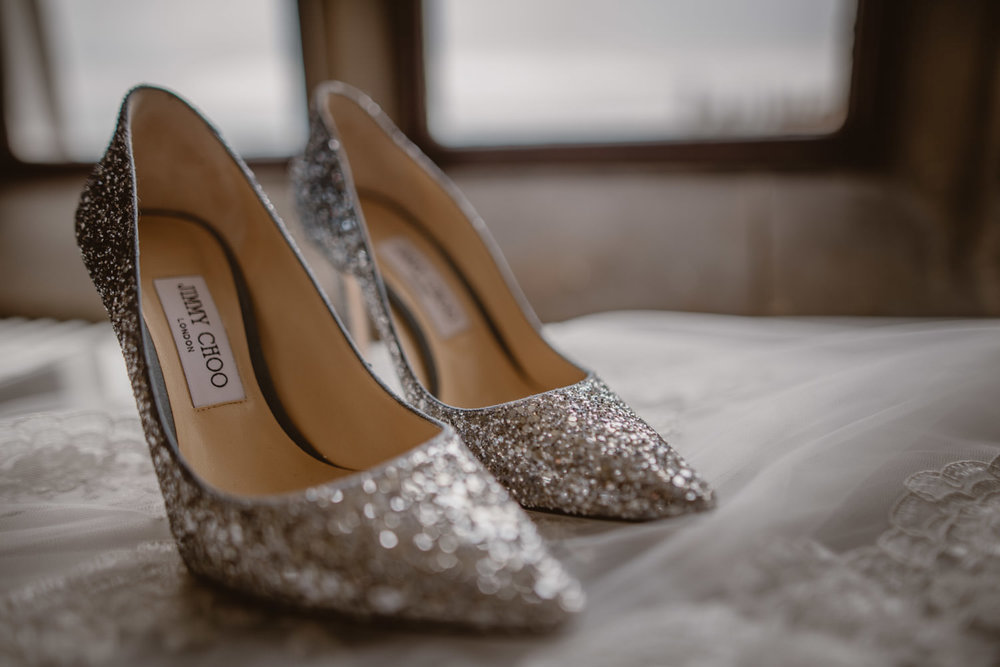 Jimmy Choo Wedding Sparkling Shoes