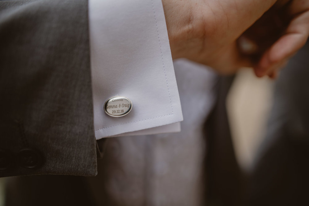 Wedding Groom Cufflink