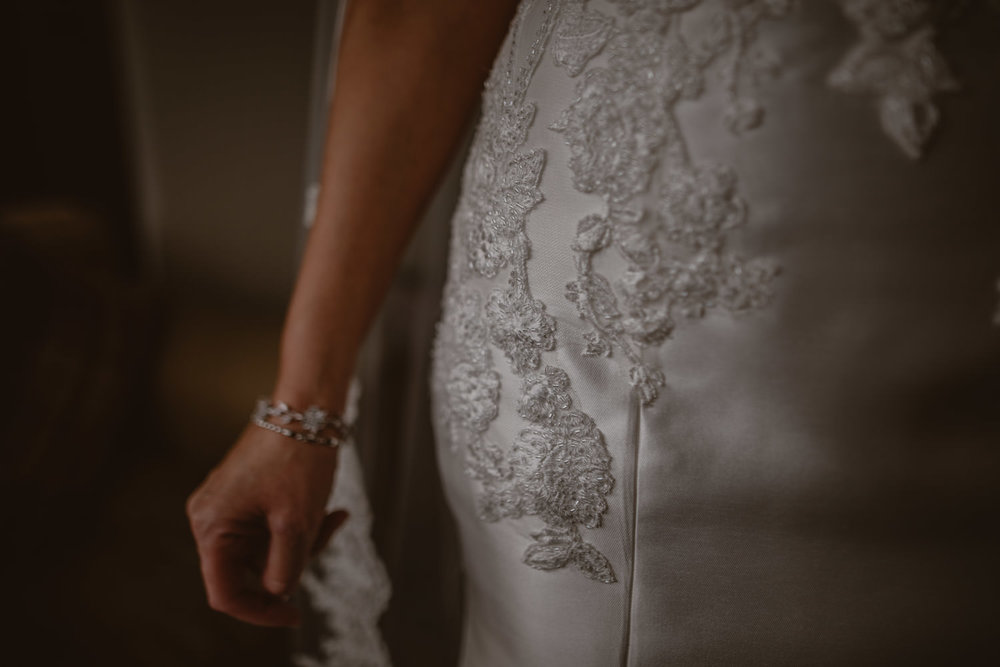Pronovias Bridal Dress detail